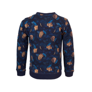 Someone Sweater Raw Navy