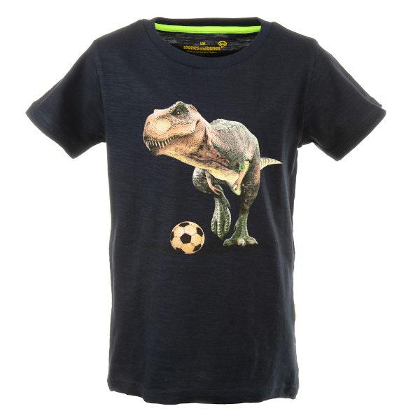 Stones and Bones T-shirt Russell-Rex Navy