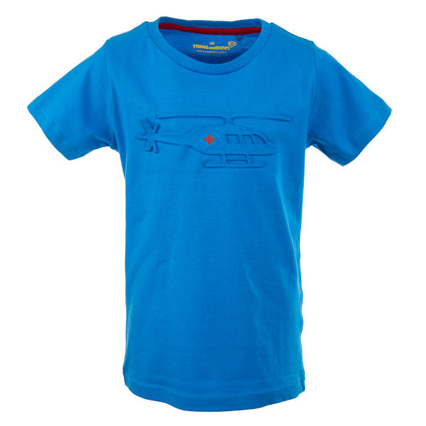 Stones and Bones T-shirt Russell Rescue Azure