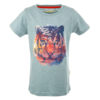 Stones and Bones T-shirt Russell Tiger Slate