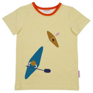 Baba Kidswear T-shirt Boys Kayak Anise Flower