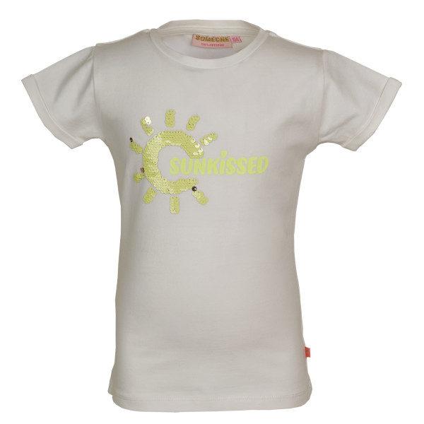 Someone T-shirt March Ecru