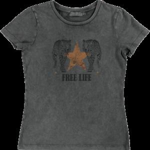 Geisha T-shirt Free Life