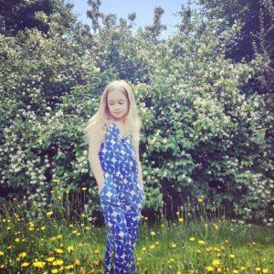 Lily Balou Antonella Jumpsuit Cobalt Dream