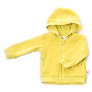 Onnolulu Hoodie Balou Yellow Velour